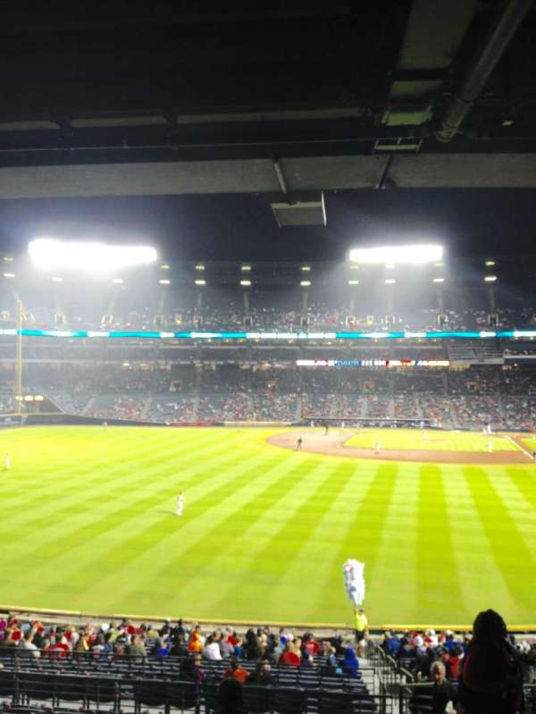 Turner Field, section: 236L, row: 11, seat: 103