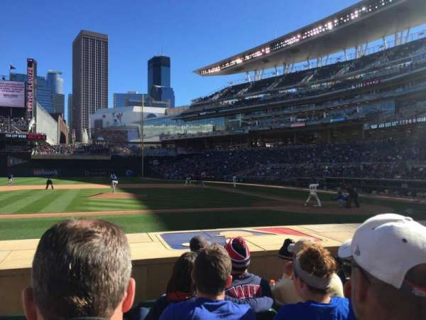 Target Field, section: 12, row: 9, seat: 13
