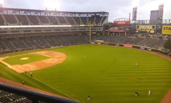Guaranteed Rate Field, section: 510, row: 2, seat: 1
