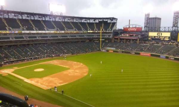 Guaranteed Rate Field, section: 514, row: 2, seat: 1