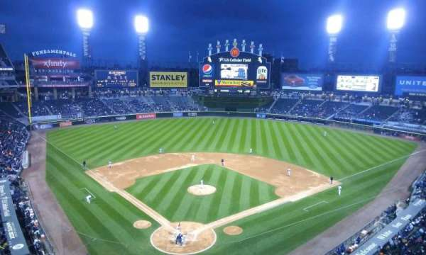 Guaranteed Rate Field, section: 530, row: 2, seat: 1
