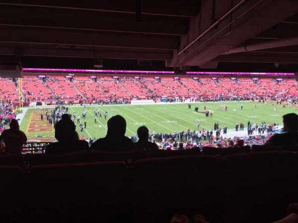 FedEx Field, section: 225, row: 16, seat: 19