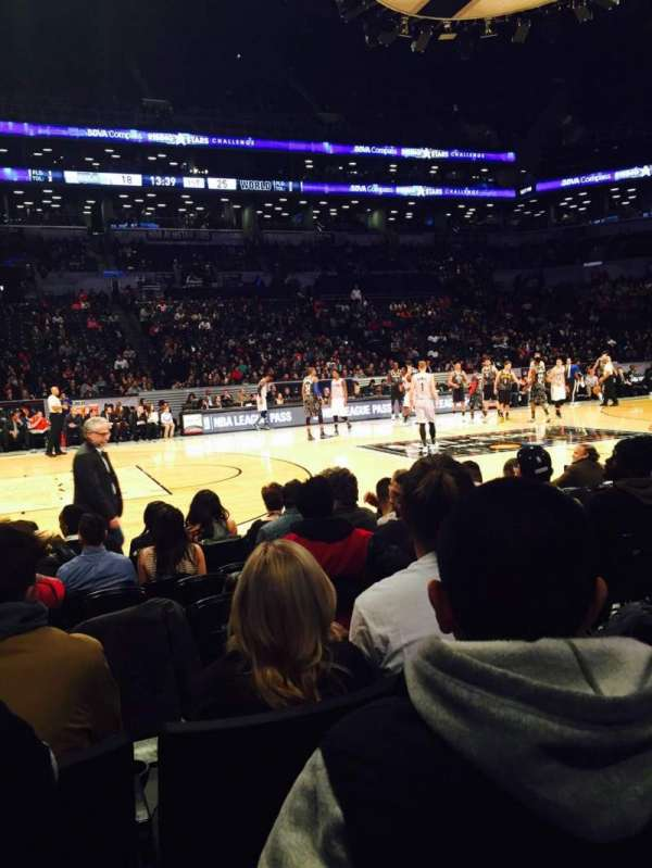 Barclays Center, section: 25, row: 3, seat: 7