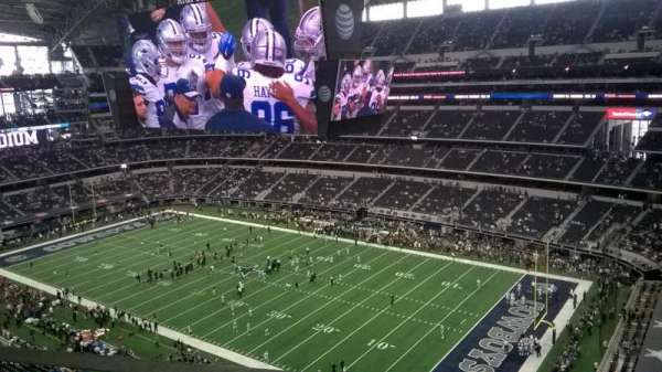 AT&T Stadium, section: 437, row: 1, seat: 5