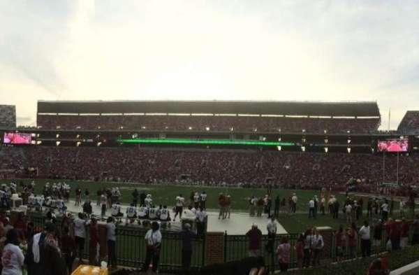 Bryant-Denny Stadium, section: JJ, row: 6, seat: 20