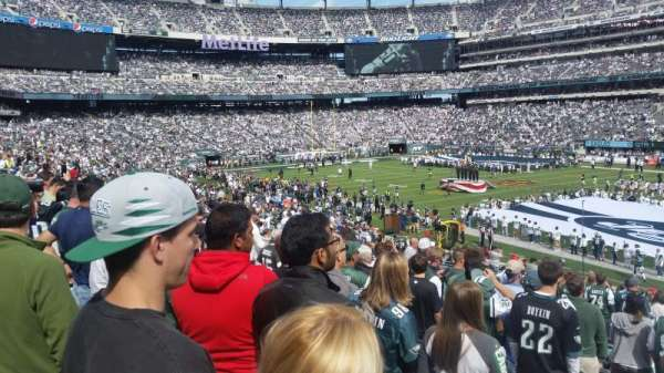 MetLife Stadium, section: 134, row: 29, seat: 6