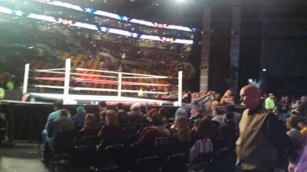 TD Garden, section: Loge 2, row: 2, seat: 3