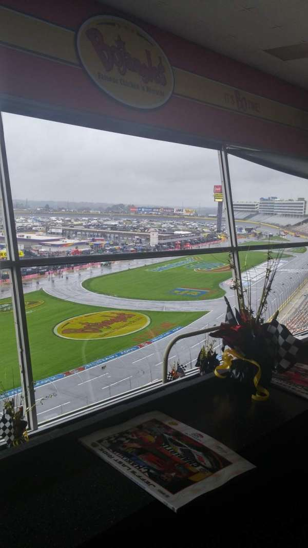 Charlotte Motor Speedway, section: Suite 113, row: 2, seat: 27