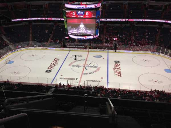 Capital One Arena, section: 401, row: J, seat: 1
