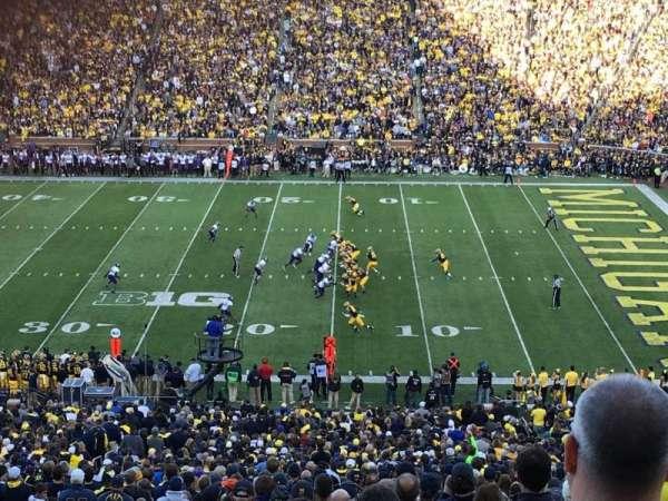 Michigan Stadium, section: 21, row: 78, seat: 27