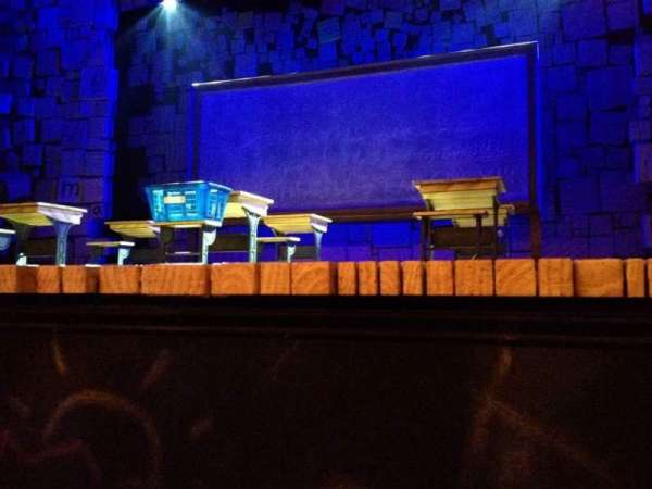 Shubert Theatre, section: Orchestra R, row: AA, seat: 8