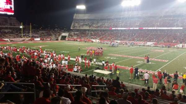 TDECU Stadium, section: 104, row: 17, seat: 12