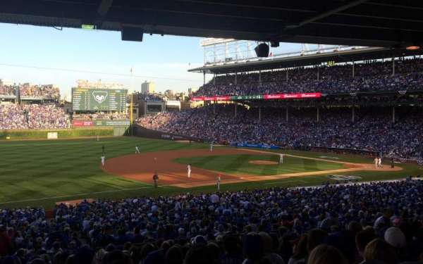 Wrigley Field, section: 208, row: 13, seat: 7