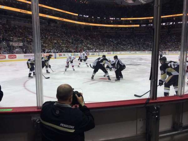PPG Paints Arena, section: 116, row: C, seat: 4