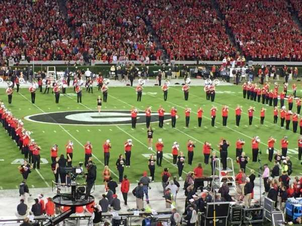 Sanford Stadium, section: 132, row: 42, seat: 22