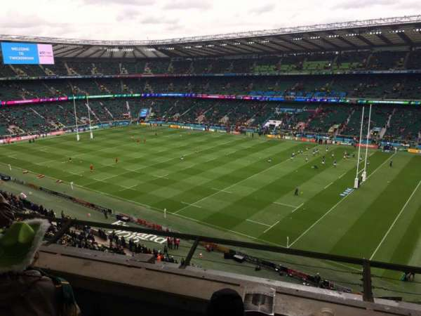 Twickenham Stadium, section: U27, row: C, seat: 95