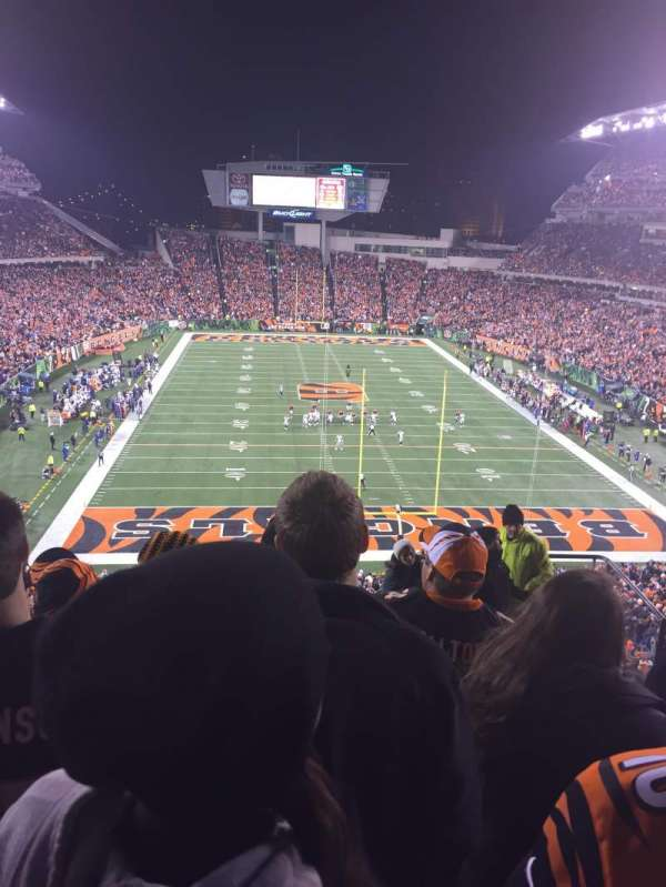 Paul Brown Stadium, section: 226