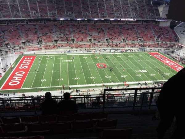 Ohio Stadium, section: 19D, row: 8, seat: 25