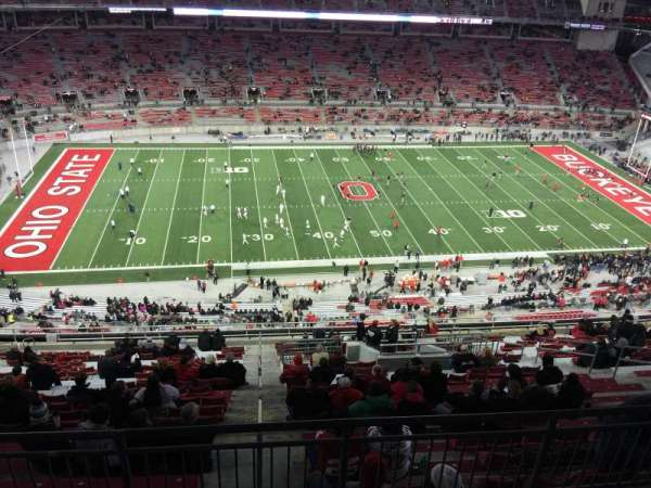 Ohio Stadium, section: 19D