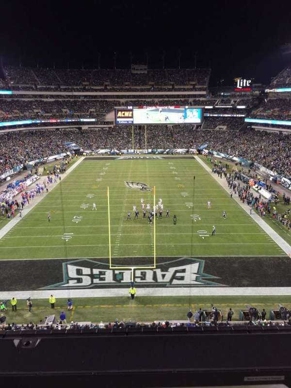 Lincoln Financial Field, section: 235, row: 1, seat: 1