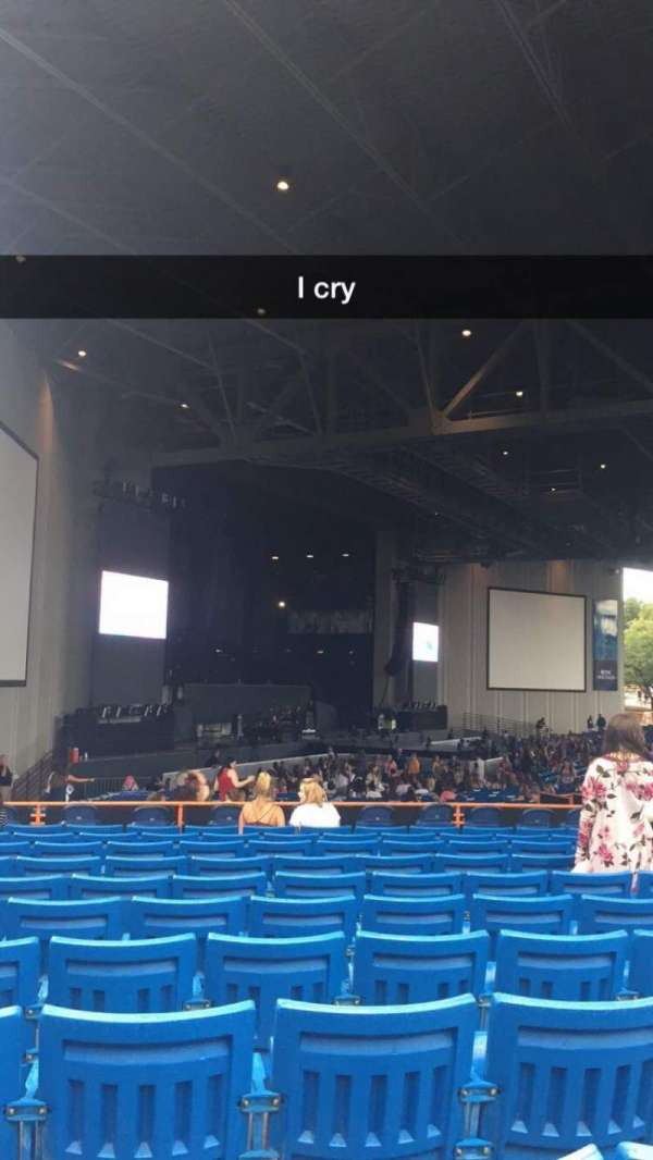 PNC Music Pavilion, section: 9, row: N, seat: 25