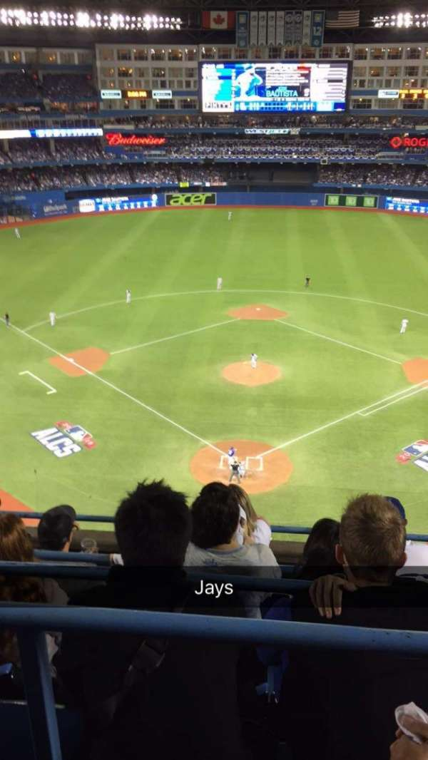 Rogers Centre, section: 524BR, row: 4