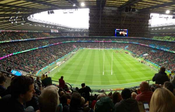 Twickenham Stadium, section: U21, row: L, seat: 145