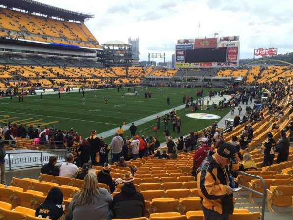 Heinz Field, section: 127, row: M, seat: 3-4