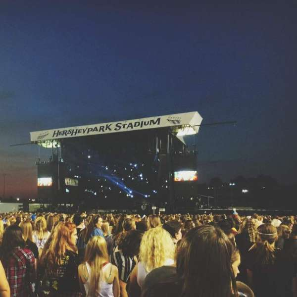 Hershey Park Stadium, section: F, row: 69, seat: 4