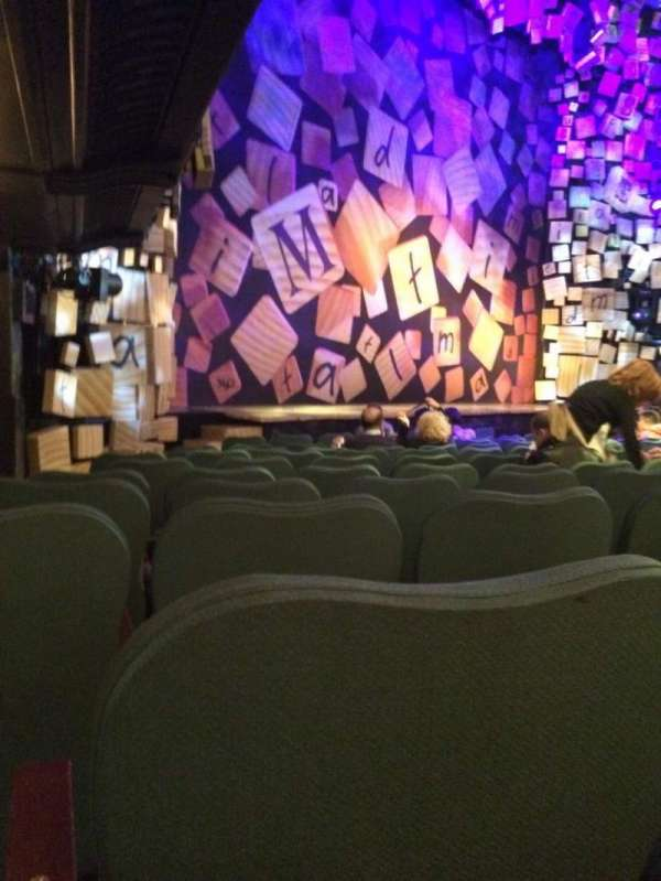 Shubert theatre, section: Orchestra L, row: K, seat: 25