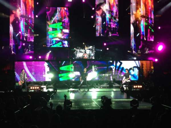 Budweiser Stage, section: 202, row: B, seat: 16