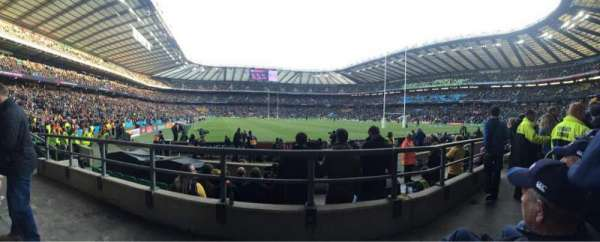 Twickenham Stadium, section: L17, row: 7, seat: 214
