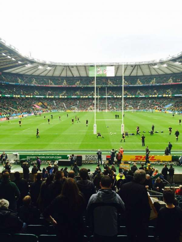 Twickenham Stadium, section: L15, row: 23, seat: 136