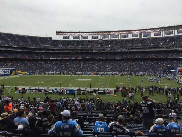 San Diego Stadium, section: P7, row: 14, seat: 13