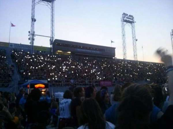 Hershey Park Stadium, section: G, row: 82, seat: 31