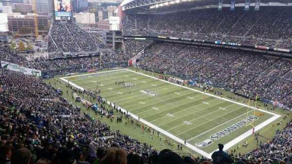 CenturyLink Field, section: 228, row: MM, seat: 19