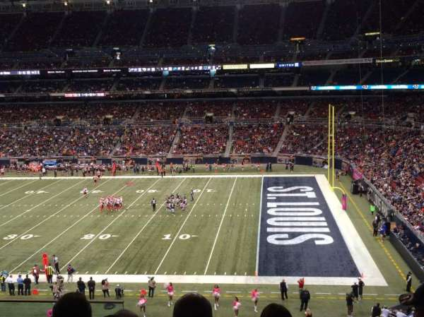 The Dome at America's Center, section: 310, row: f, seat: 12