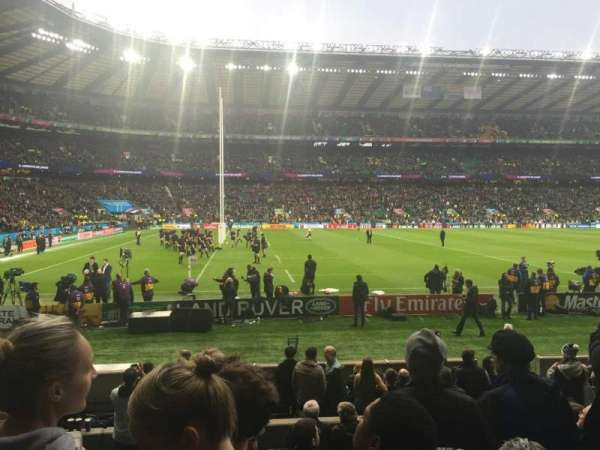 Twickenham Stadium, section: L9, row: 14, seat: 348