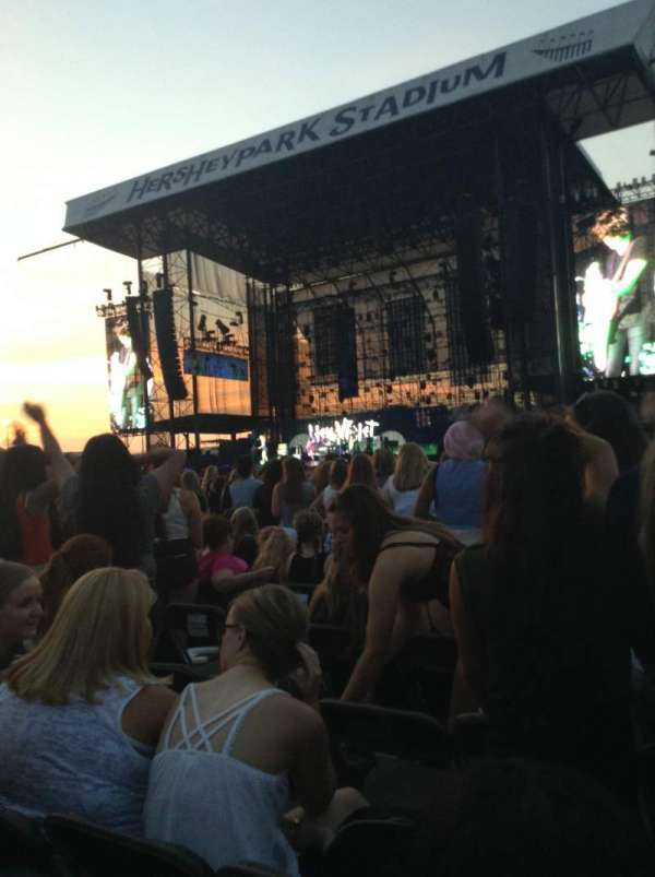 Hershey Park Stadium, section: A, row: 31, seat: 21