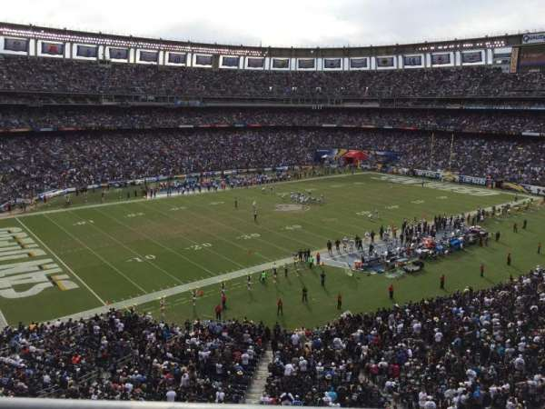 SDCCU Stadium, section: C61, row: 1, seat: 10