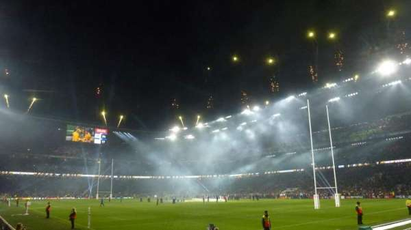 Twickenham Stadium, section: L18, row: 7, seat: 254