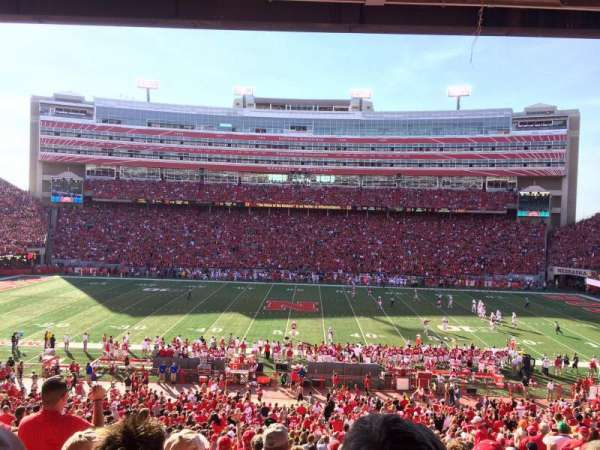 Memorial Stadium (Lincoln), section: 6, row: 39, seat: 4