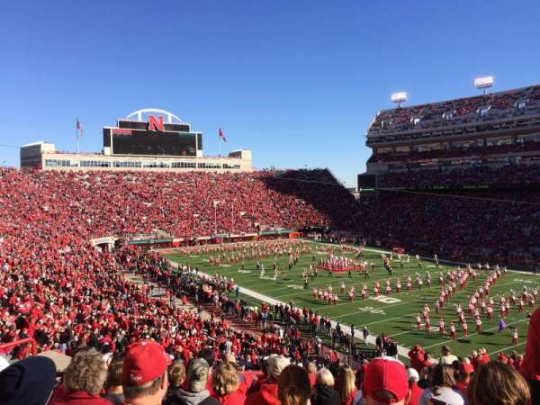 Memorial Stadium (Lincoln), section: 20, row: 59, seat: 20ish