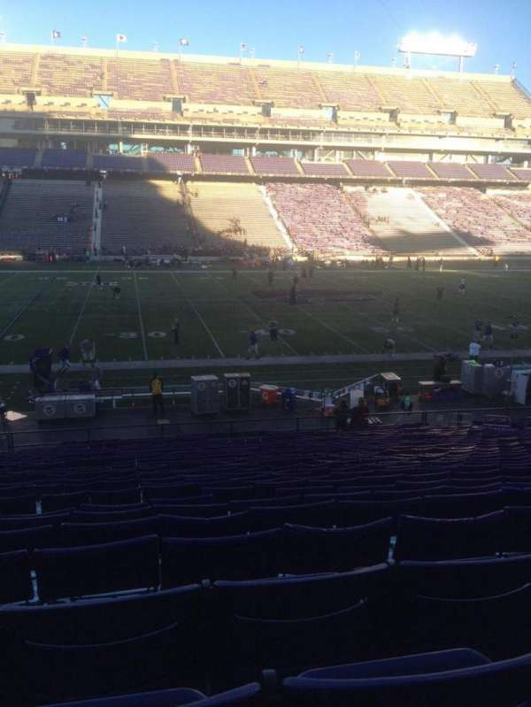 Bill Snyder Family Stadium, section: 4, row: 32, seat: 21