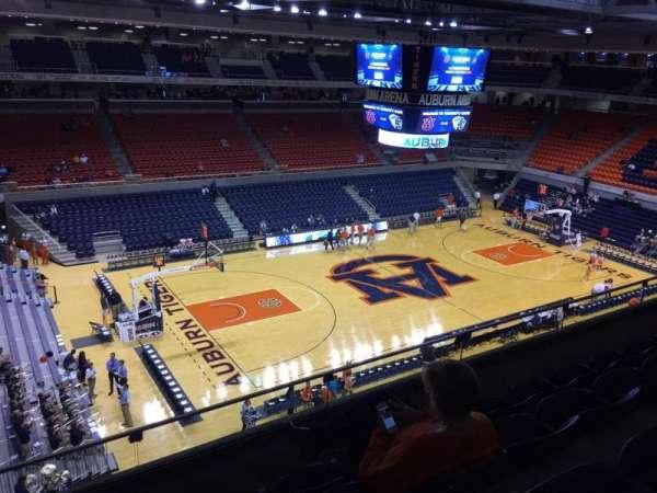 Auburn Arena, section: 215, row: 28, seat: 22