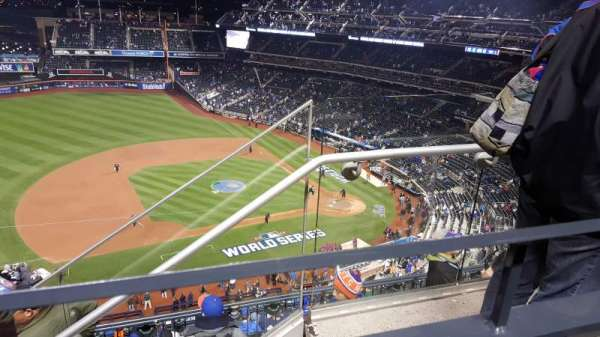 Citi Field, section: 522, row: 1, seat: 3