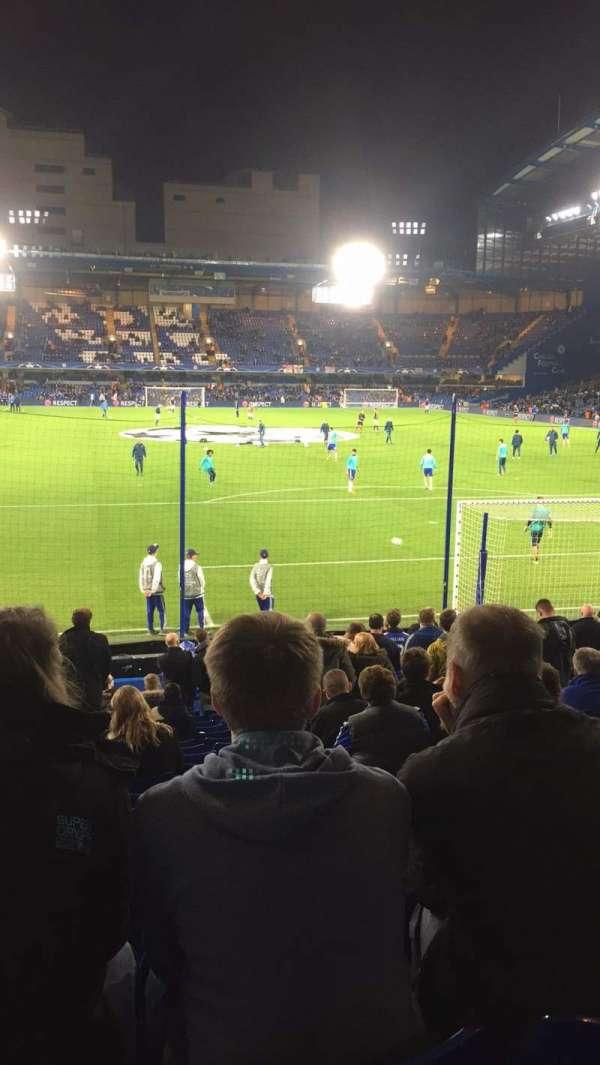 Stamford Bridge, section: Matthew Harding Lower 13, row: W, seat: 106