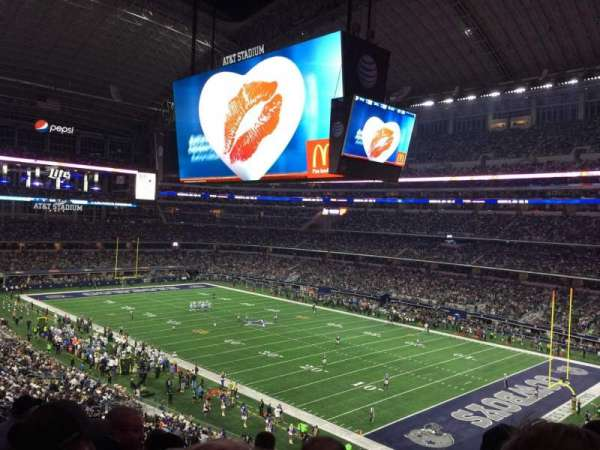 AT&T Stadium, section: 404, row: 6, seat: 1