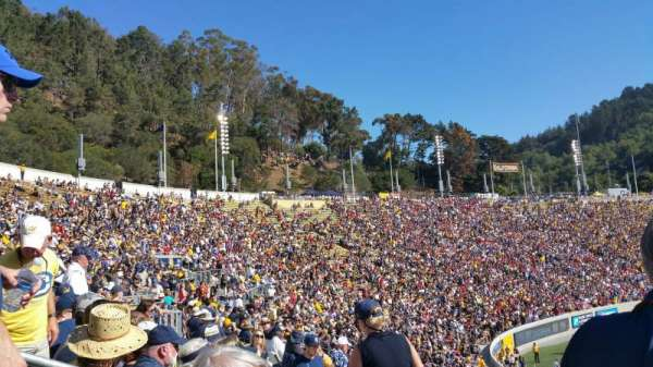 California Memorial Stadium, section: B, row: 36, seat: 16
