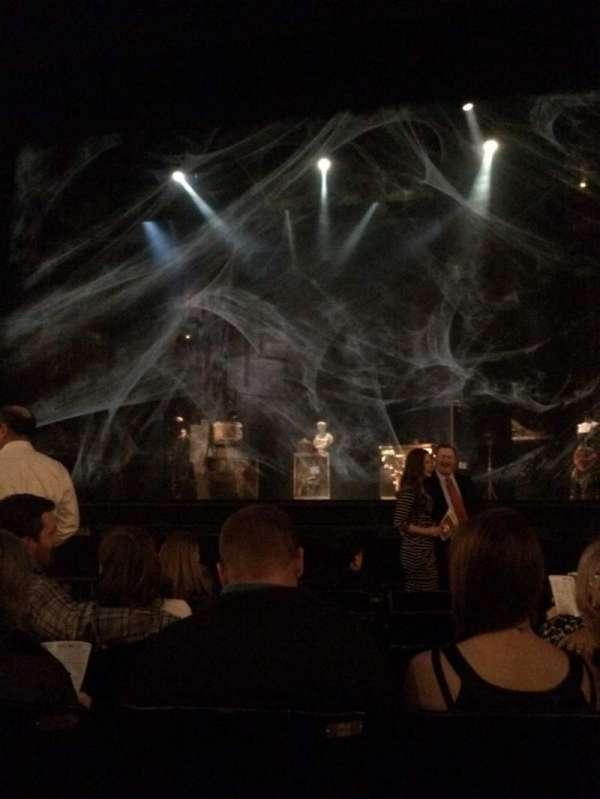 Majestic Theatre - san antonio, section: ORRC, row: F, seat: 108